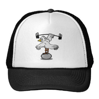 Chicken Lifting Weights Cap