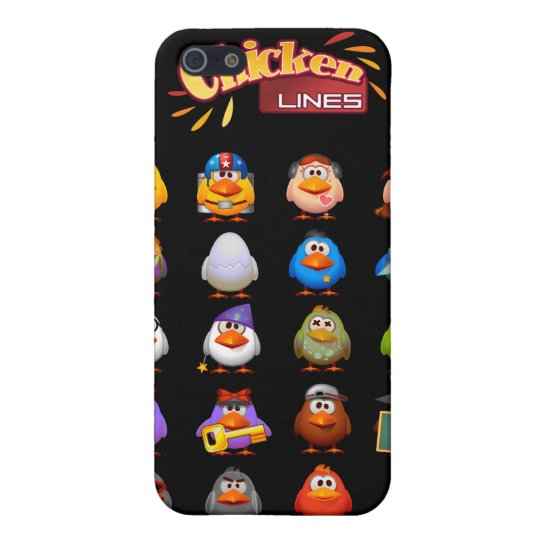 Chicken Lines iPhone 4G Speck Case iPhone 5