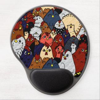 Chicken Love Gel Mouse Mat