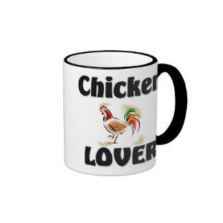 Chicken Lover Ringer Mug