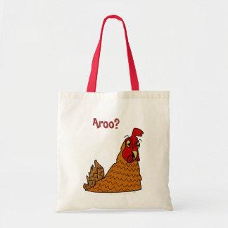 Chicken Lovers Gifts Cute Cartoon Hen Reusable Bag