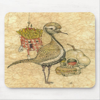 Chicken n fries mouse pad