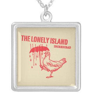 Chicken Square Pendant Necklace