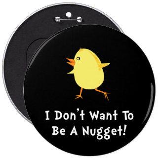 Chicken Nugget 6 Cm Round Badge