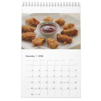 Chicken Nugget Calendar 2018