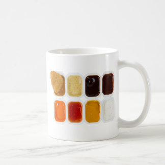 chicken nuggets basic white mug