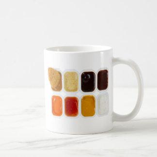 chicken nuggets basic white mug