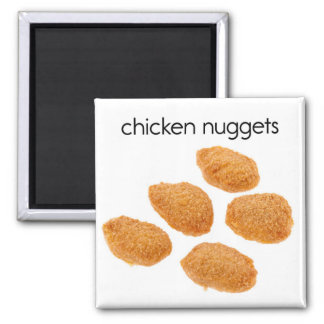 Chicken Nuggets Refrigerator Magnet