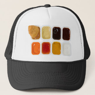chicken nuggets trucker hat
