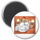 Chicken Or Egg Came 1st? Funny Gifts & Tees Magnet