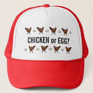 Chicken or the Egg? Trucker Hat