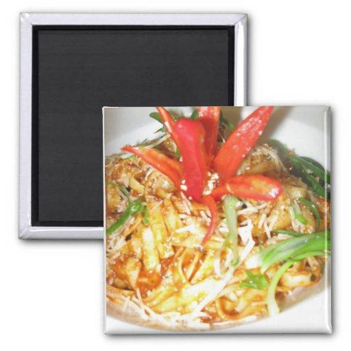 Chicken Pasta Magnets