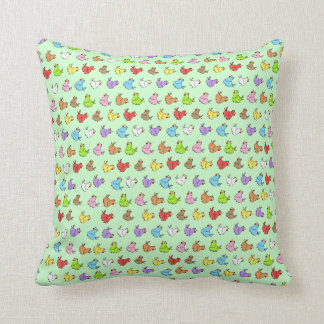 Chicken Pattern Throw Pillow