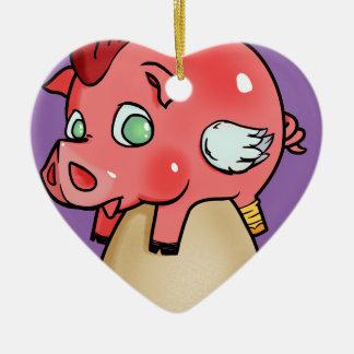 Chicken, Pig, Cheeken-Peeg! Christmas Ornament