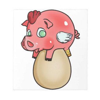 Chicken, Pig, Cheeken-Peeg! Notepad