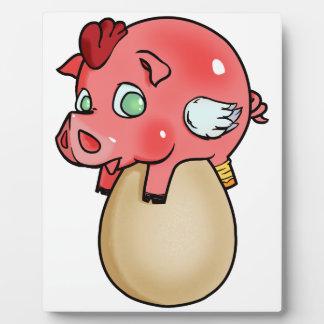 Chicken, Pig, Cheeken-Peeg! Plaque