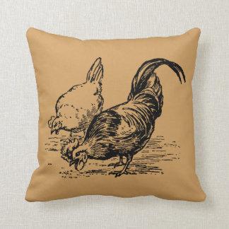 Chicken Pillow - Rooster & Hen