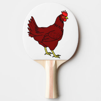 chicken ping pong paddle