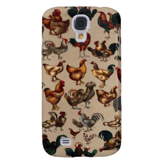 Chicken Poultry Of The World Galaxy S4 Case