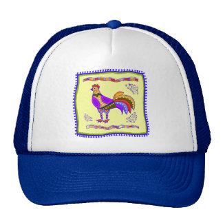 Chicken Quilt Hats