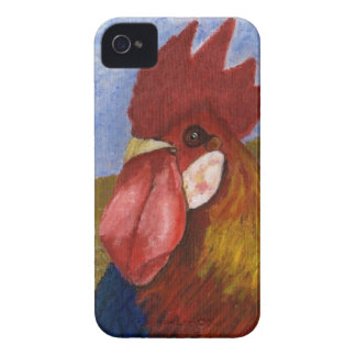 Chicken - Rooster Case-Mate iPhone 4 Cases