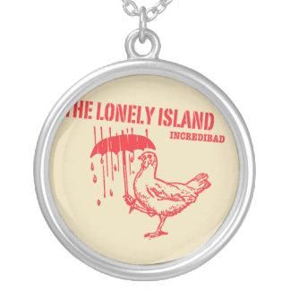 Chicken Round Pendant Necklace