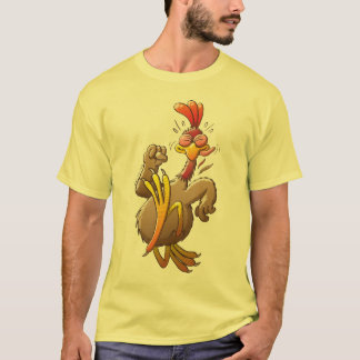 Chicken Running for his Life T-Shirt