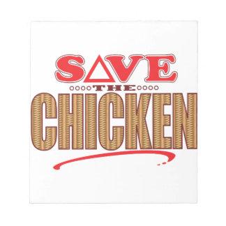 Chicken Save Notepad
