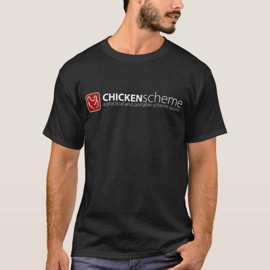 Chicken Scheme T-Shirt (dark)