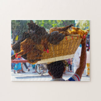 Chicken Sellers Bangladesh. Jigsaw Puzzle
