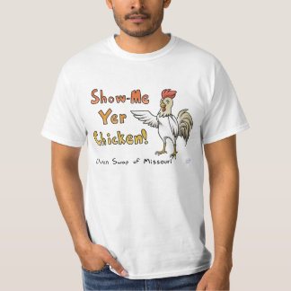 "Chicken Swap of Missouri ""Birds of a feather"" T-Shirt"