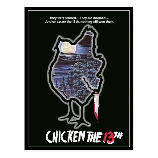 CHICKEN THE 13TH POSTCARDS