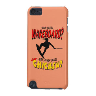 Chicken WAKEBOARD 1 (Black) iPod Touch (5th Generation) Case