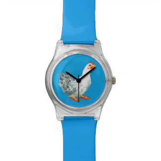 Chicken Watch (blue)
