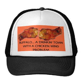 CHICKEN WING PROBLEM HAT