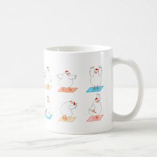 Chicken Yoga Mug