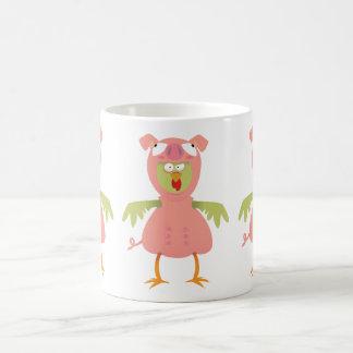 chickenpig, chickenpig, chickenpig basic white mug