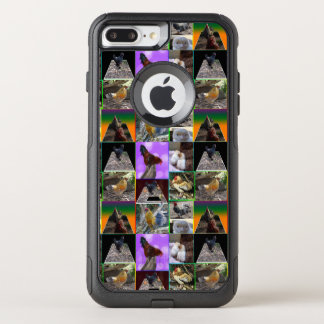 Chickens And Roosters Photo Collage, OtterBox Commuter iPhone 8 Plus/7 Plus Case