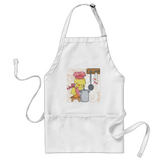 Chickens Cook Adult Apron