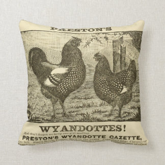 Chickens Cushion