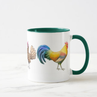 Chickens Galore Mug