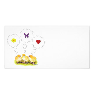 Chickie Daydreams Photo Card Template