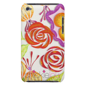 ChickieLou Flowers iPod Touch Case