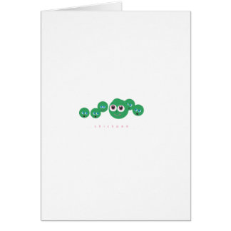 chickpea greeting card
