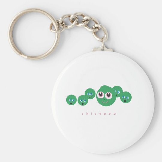 chickpea key ring