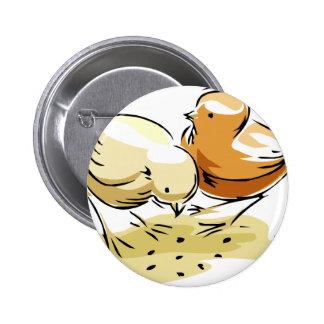 Chicks 6 Cm Round Badge