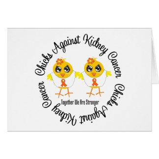 Chicks Against Kidney Cancer Cards
