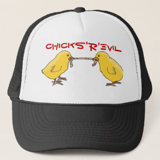 chicks, CHICKS'R'EVIL Trucker Hat