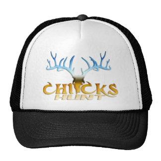 CHICKS DEER HUNT MESH HATS