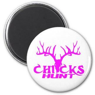CHICKS DEER HUNT MAGNET